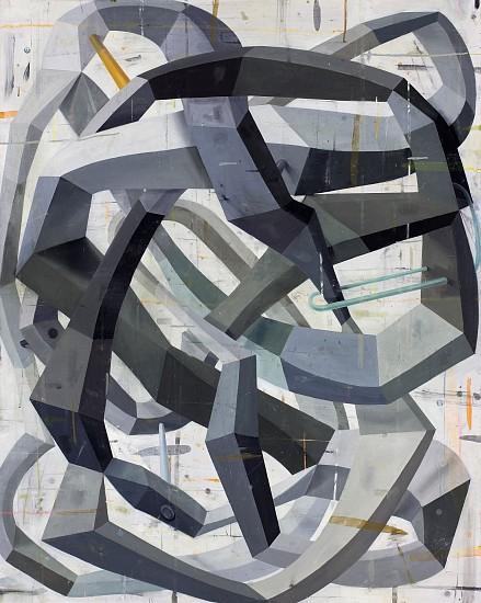 DEBORAH ZLOTSKY, THE ENCYCLOPEDIA OF OBVIOUSLY oil on canvas