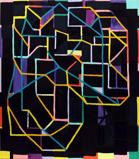JASON KAROLAK, UNTITLED (P-1423) oil on canvas