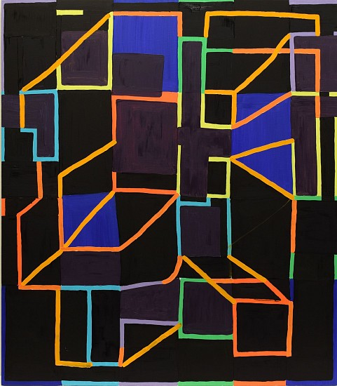 JASON KAROLAK, UNTITLED (P-1508) oil on canvas