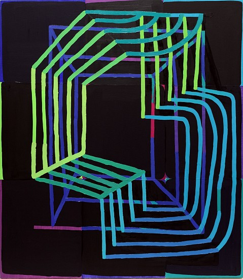 JASON KAROLAK, UNTITLED (P-1510) oil on canvas