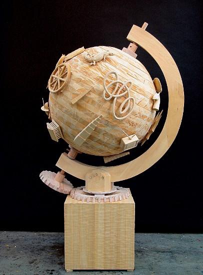 JOHN BUCK, OMNIBUS jelutong wood w/ acrylic