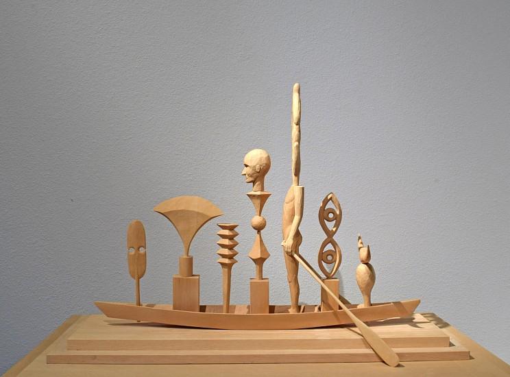 JOHN BUCK, YACHTSMAN jelutong wood with table pedestal