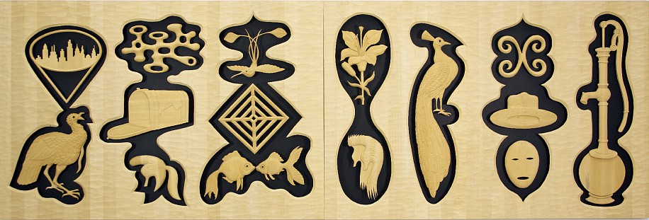 JOHN BUCK, THE LONG VIEW jelutong wood w/ acrylic