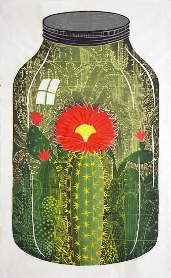 JOHN BUCK, CHOIR BOY ED. 15 woodblock print