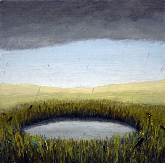 JIM CURSLEY, RAIN oil on panel