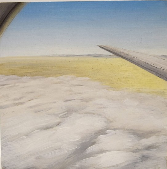 JIM CURSLEY, WING oil on panel