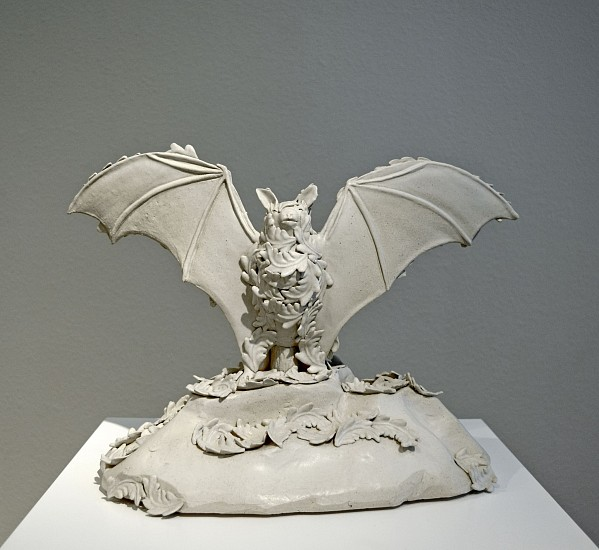 KIM DICKEY, NIGHTWATCH (BLIND PERCEPTION AFTER VICTOR HUGO) glazed  stoneware