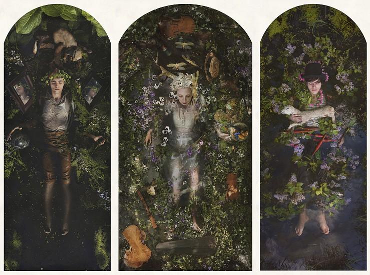 KAHN + SELESNICK, KRISJAN, MELORA, JOSHUA pigment print
