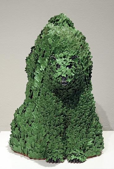 KIM DICKEY, BLENDING INTO ATTENTION glazed  terracotta