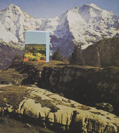 TYLER BEARD, LAND PORTAL (Jungfrau to Simpson Desert) collaged pigment print