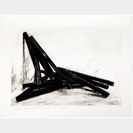 BERNAR VENET, EFFONDREMENT: ANGLES 19/40 ep1 lithograph