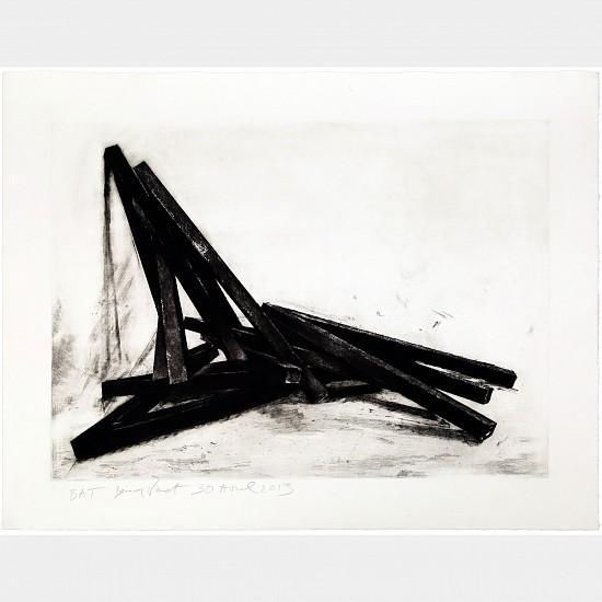 BERNAR VENET, EFFONDREMENT: ANGLES 19/40 ep1 lithograph