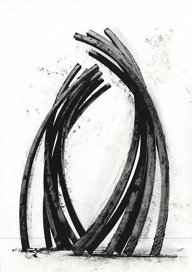 BERNAR VENET, 85.8 ARC X 16 48/90 digigraph