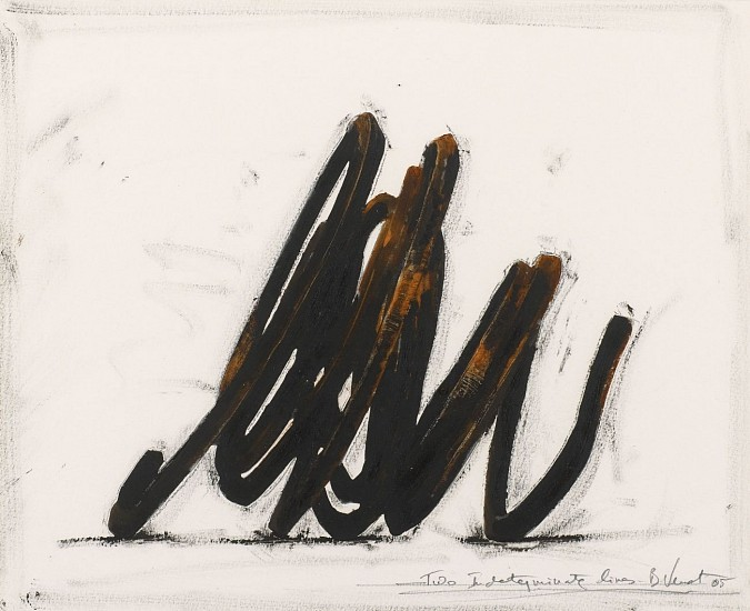 BERNAR VENET, TWO INDETERMINATE LINES  44/60  ep1 lithograph