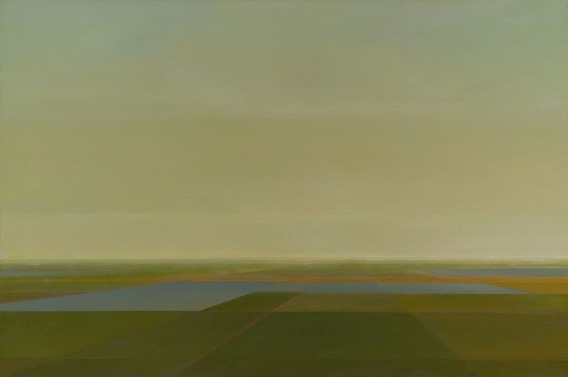 PETER DI GESU, EAST OF THE PEAKS oil on canvas