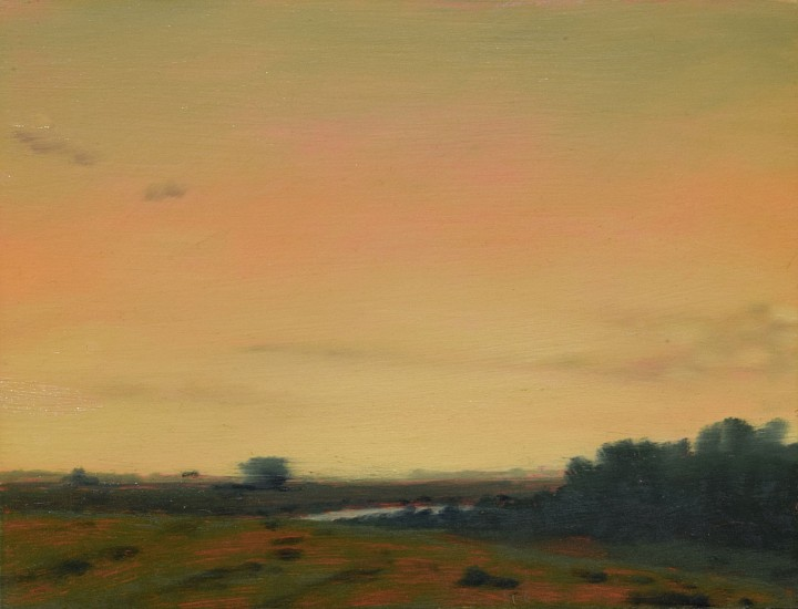 PETER DI GESU, NORTH PLATTE #20 oil on panel