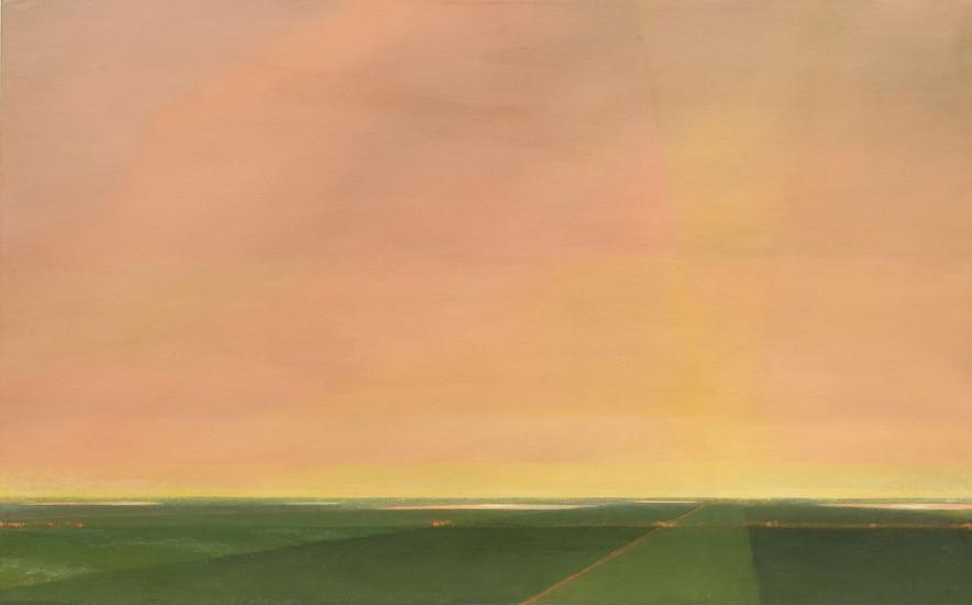 PETER DI GESU, UNTITLED oil on canvas