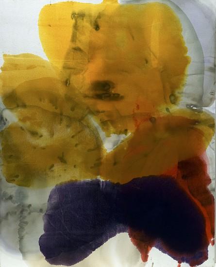 DIRK DE BRUYCKER, MUNECA, SEATED asphalt, cobalt drier, gesso and oil on canvas