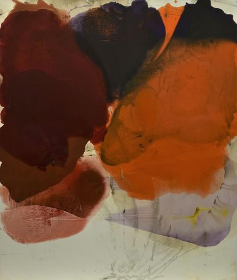 DIRK DE BRUYCKER, OVERLAY asphalt, cobalt drier, gesso and oil on canvas