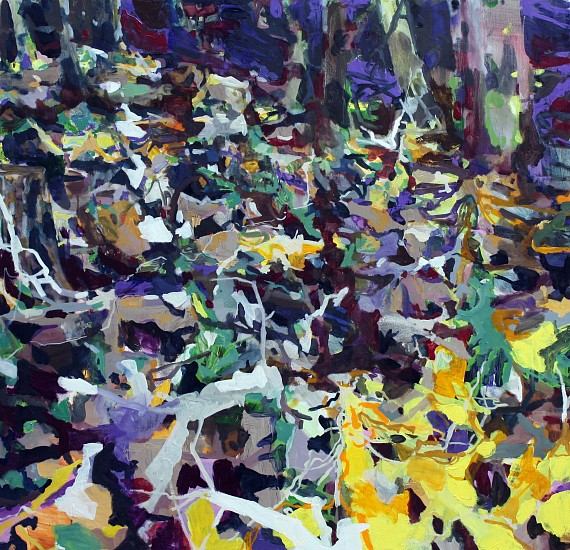 ALLISON GILDERSLEEVE, OUT AFTER DARK oil on canvas