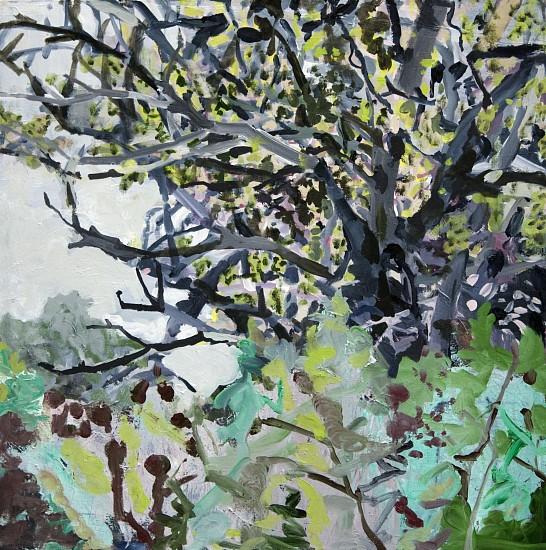 ALLISON GILDERSLEEVE, BEYOND THE BREACH oil on canvas