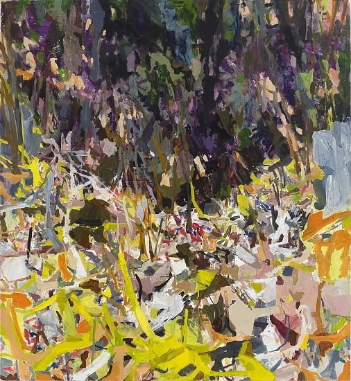 ALLISON GILDERSLEEVE, FORTRESS oil on canvas