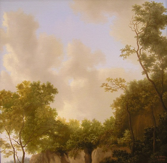 WES HEMPEL, UNTITLED # 5 oil on canvas