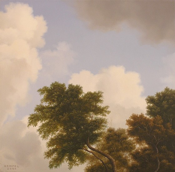 WES HEMPEL, UNTITLED # 2 oil on canvas