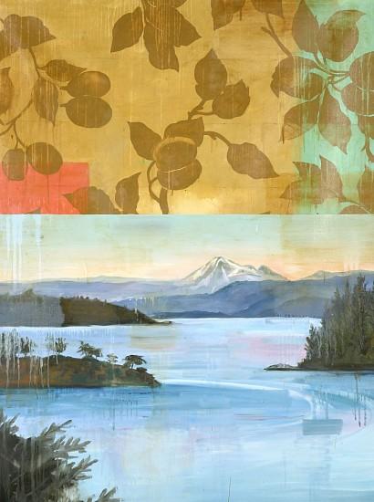 TOM JUDD, ARRANGED oil on canvas on panel