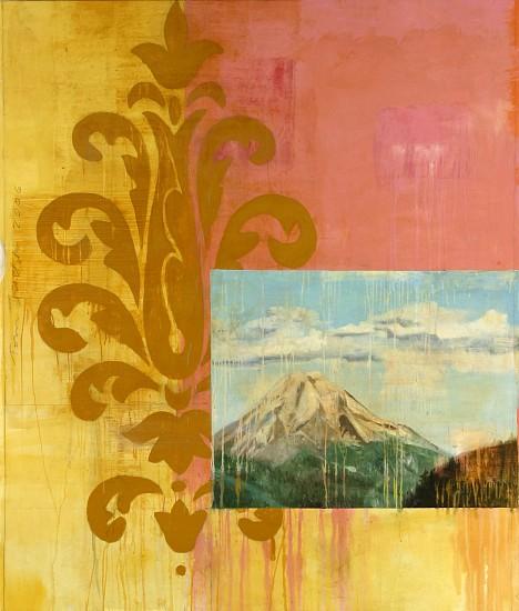 TOM JUDD, MOUNTAIN oil on canvas on panel
