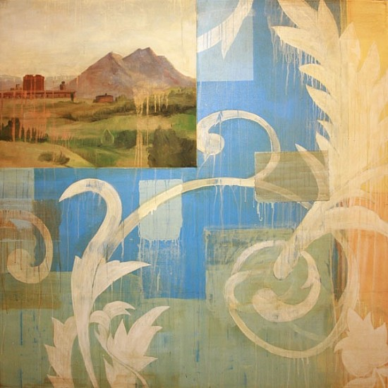 TOM JUDD, NEW CONTINENT oil on canvas