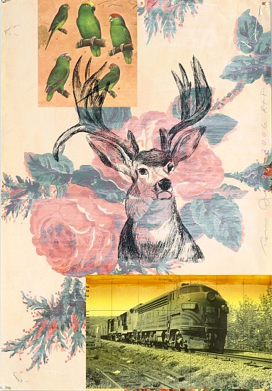 TOM JUDD, STAG?/24 lithography, collagraph and digital