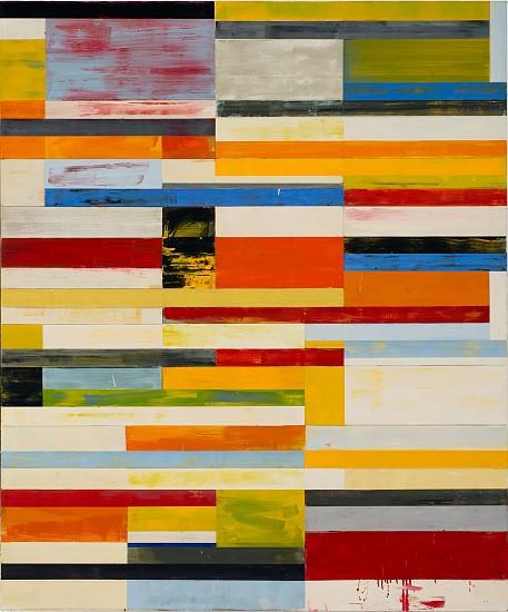 LLOYD MARTIN, SKID oil on canvas