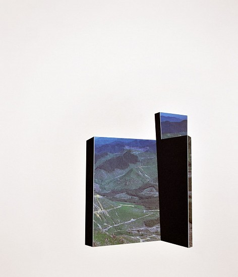 TYLER BEARD, ARCHITECTURAL LANDFORM 4 collage on paper