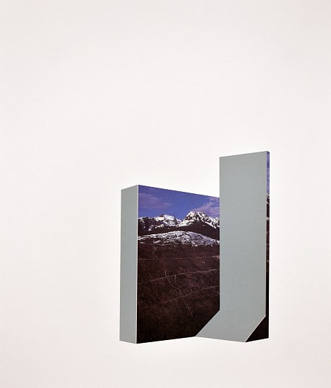 TYLER BEARD, ARCHITECTURAL LANDFORM 3 collage on paper