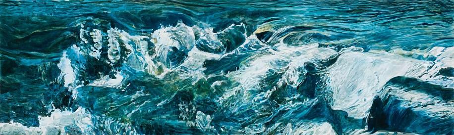 STEPHEN BATURA, KARVAL acrylic on panel