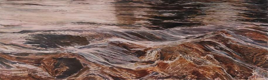 STEPHEN BATURA, CADDOA acrylic on panel