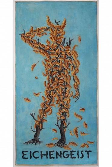 KAHN + SELESNICK, EICHENGEIST tempura on canvas