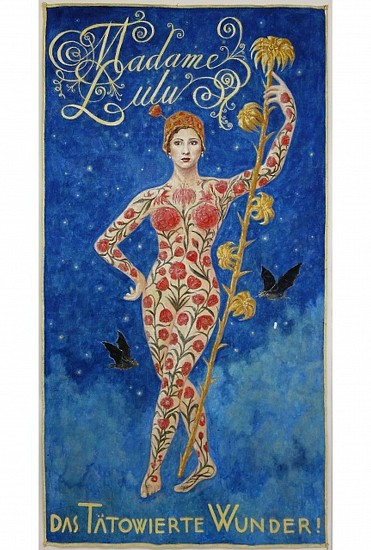 KAHN + SELESNICK, MADAME LULU tempera on canvas