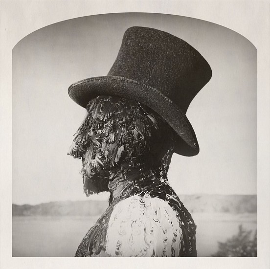 KAHN + SELESNICK, FEATHERMAN IS ABROAD 2/5 pigment print