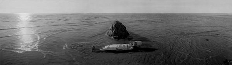 KAHN + SELESNICK, WORDHEAP WORTHAUFEN 3/5 PANORAMIC SURVEY PHOTOGRAPH b/w quadtone archival digital print