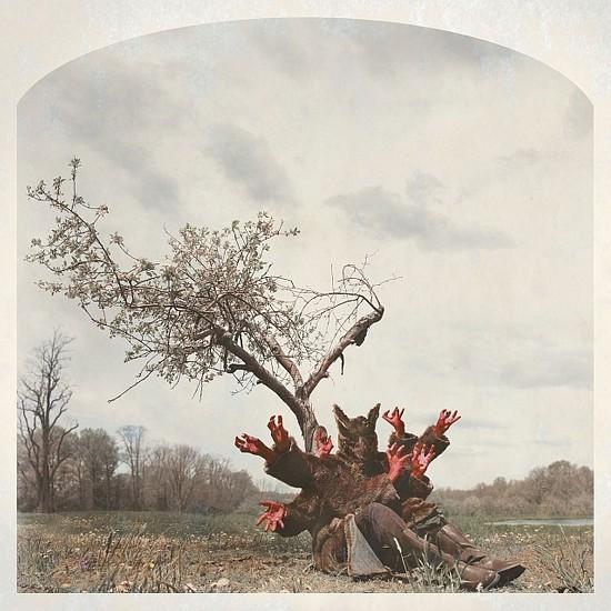 KAHN + SELESNICK, RED HANDED  3/5 pigment print