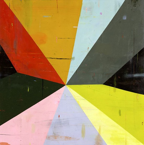DEBORAH ZLOTSKY, LACHESIS 4 oil on canvas