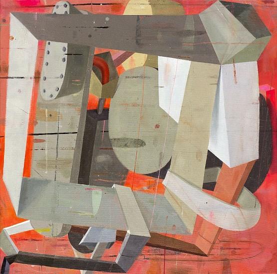 DEBORAH ZLOTSKY, Backwards glance oil on canvas