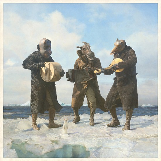 KAHN + SELESNICK, THREE MUSICIANS 5/10 archival digital print on Hanamule paper