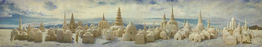 KAHN + SELESNICK, CITY OF SALT AP 2/2 PANORAMIC SURVEY PHOTOGRAPH color digital archival print