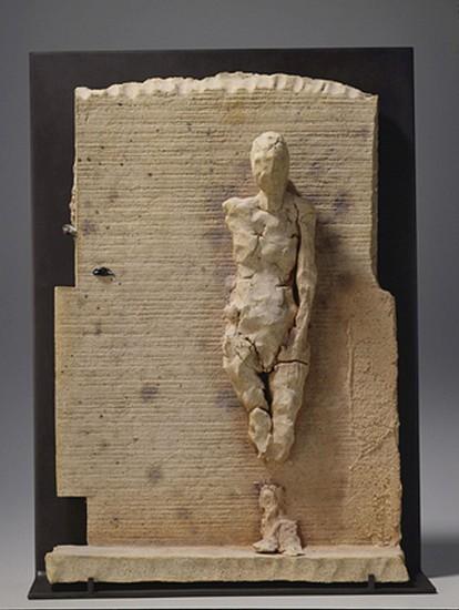 MANUEL NERI, MAHA - CERAMIC MAQUETTE VIII  w/stand ceramic