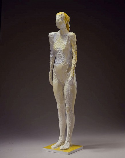 MANUEL NERI, CATUN No. 2 3/4 bronze, Incralac with oil-based pigments
