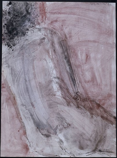 MANUEL NERI, SIRENA III water-based pigments, charcoal on paper