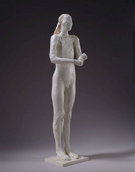 MANUEL NERI, STANDING FIGURE A/P 1 bronze, Incralac with oil-based pigments